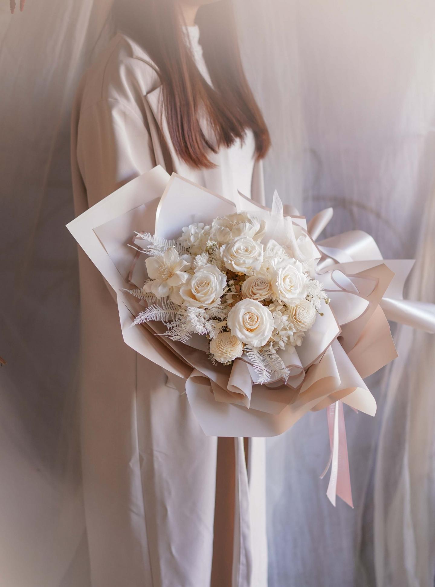台中花店-情人節花束
