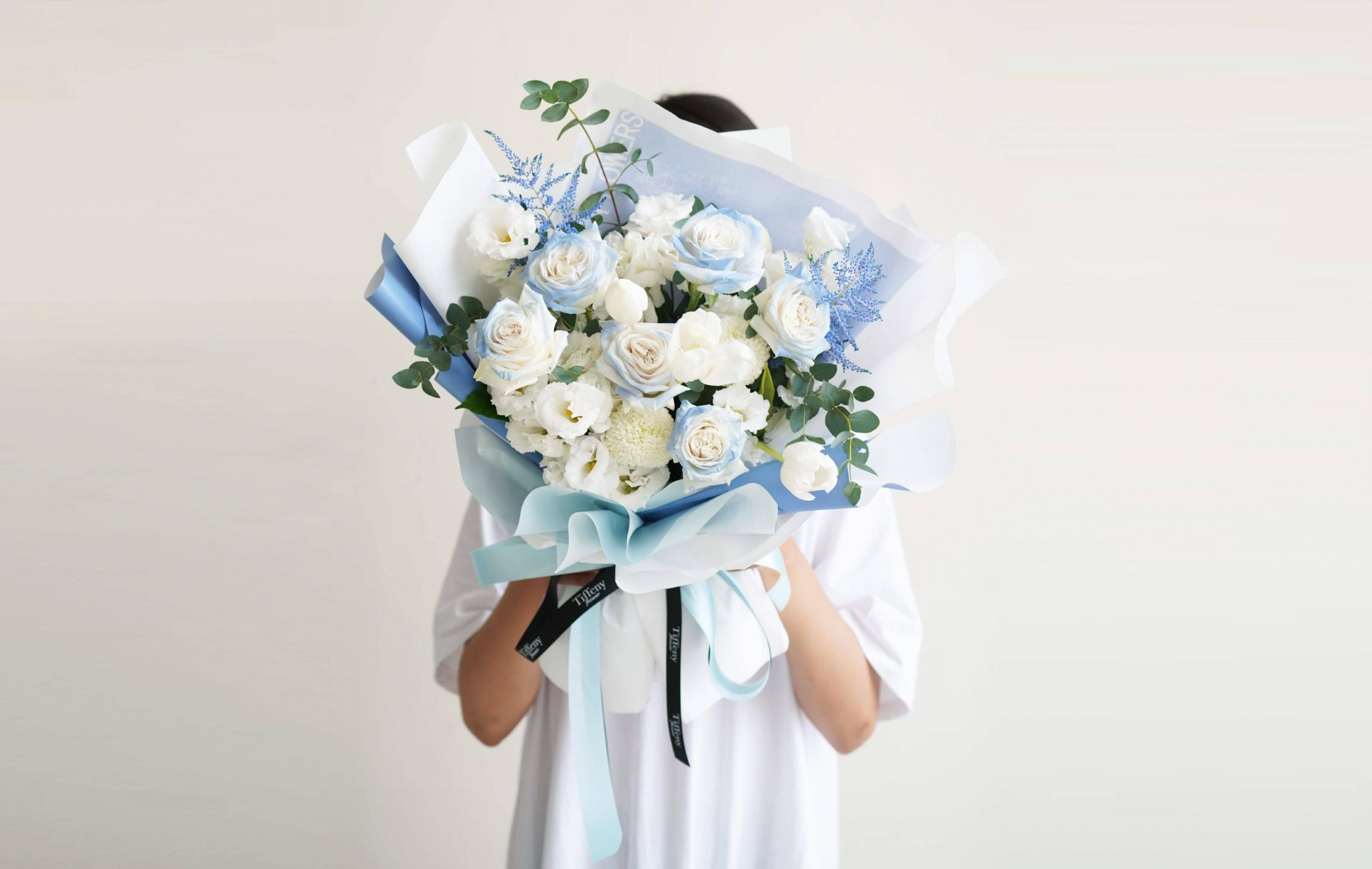 台中花店-鮮花束-情人節花束