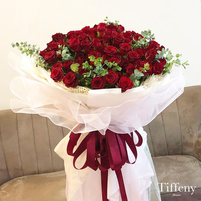 99朵紅玫瑰花束(加大) 2