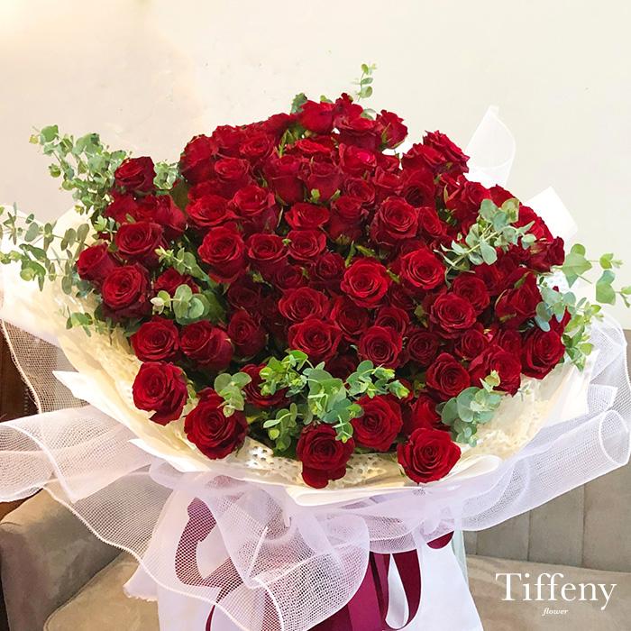 99朵紅玫瑰花束(加大) 1