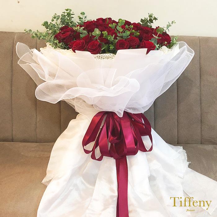 99朵紅玫瑰花束(加大) 3