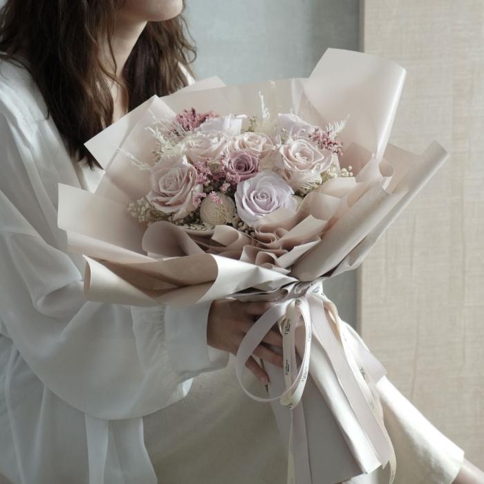 情人節限定 ・ 韓式小姊姊的花束 1